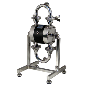 Tapflo aseptic ehedg and pharmaceutical diaphragm pump by s reich co air operated sanitary diaphragm pump ccuart Choice Image